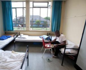 Opvang tijdens de asielprocedure
