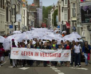 De campagne Leven in veiligheid van VluchtelingenWerk