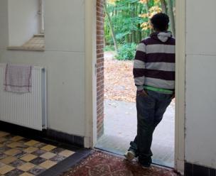 Uitgeprocedeerde asielzoeker