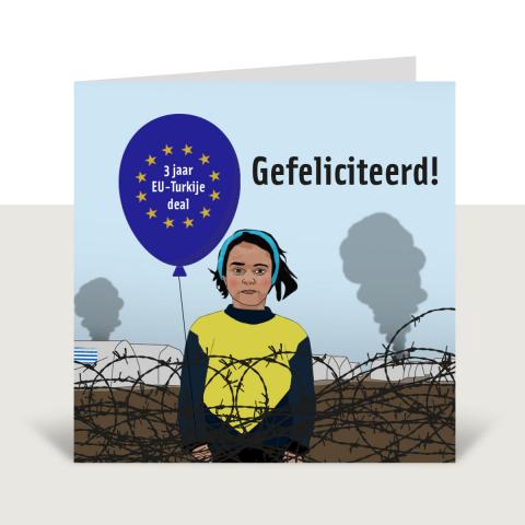 Onze campagne '3 jaar EU-Turkijedeal'