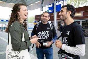 VluchtelingenWerk zorgt voor draagvlak voor vluchtelingen met Bakkie Doen