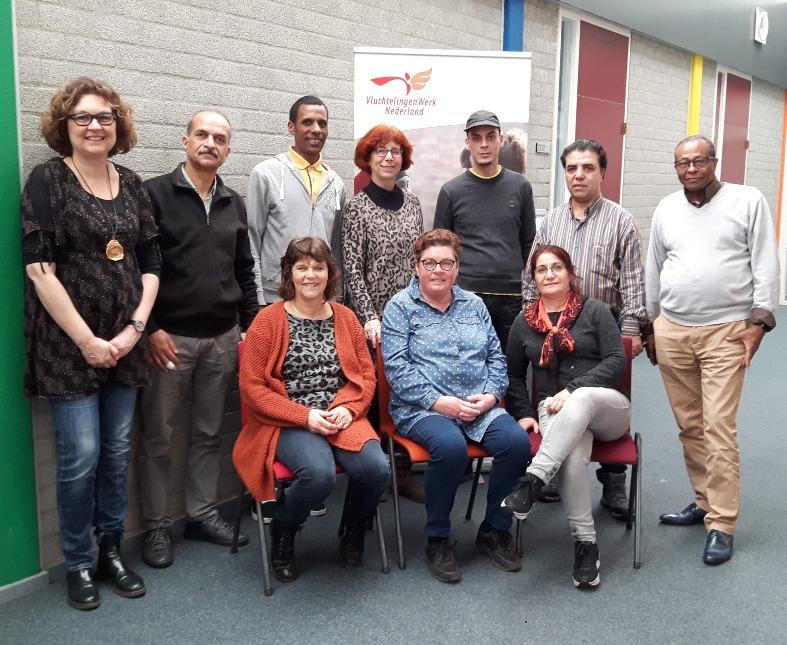 Team VluchtelingenWerk Walcheren