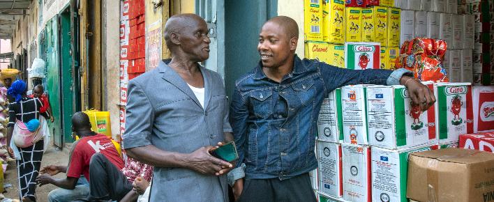 Vluchteling in gesprek over terugkeer naar Benin