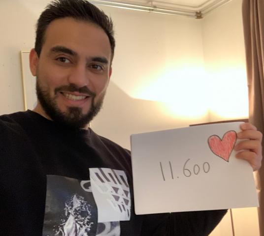 Onze campagne 'Laat je hart spreken voor vluchtelingen!'